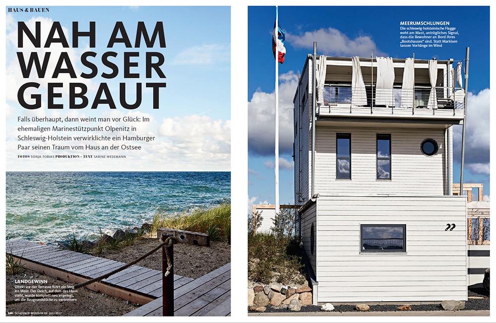 Schöner Wohnen Juli 2017 Haus Auf Der Ostsee