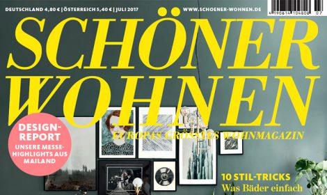 """""""Schöner Wohnen"""" Juli 2017"""